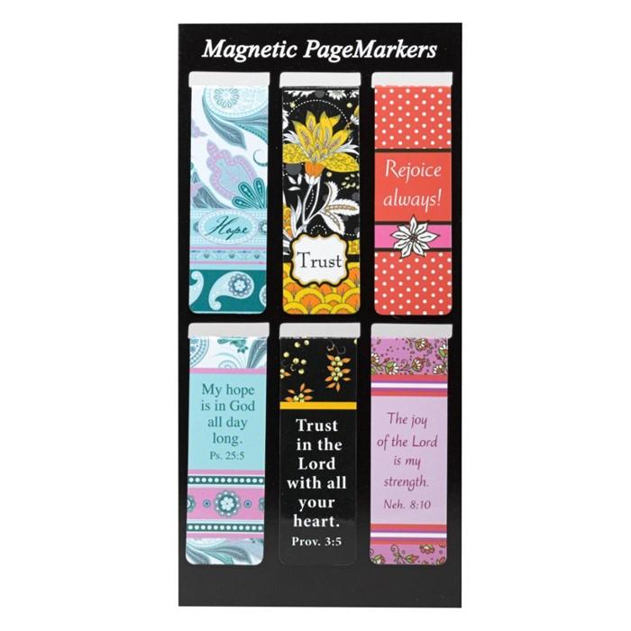 Bookmark Magnetic Assorted: Sarah J (Pack of 6) (Bookmark)