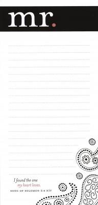 Memo Pad: Mr (Notebook / Blank Book)