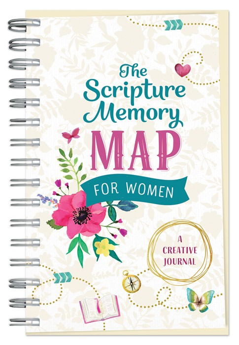 The Scripture Memory Map for Women (Spiral Bound)