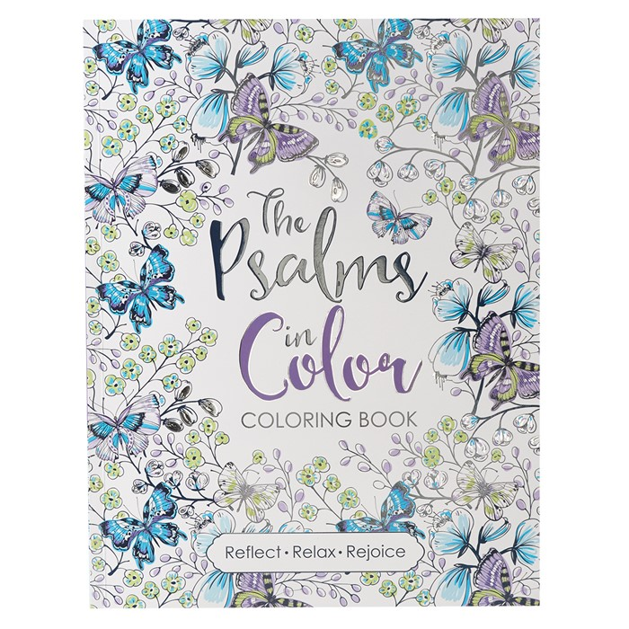 The Psalms In Color: Colouring Book (Paperback)