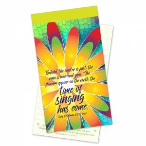 The Time of Singing Has Come Jotter Notepad (Paperback)