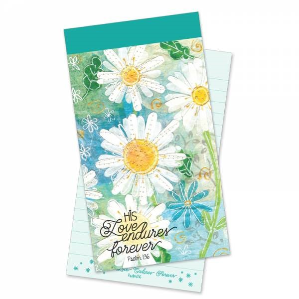 Love Endures Forever Jotter Notepad (Paperback)