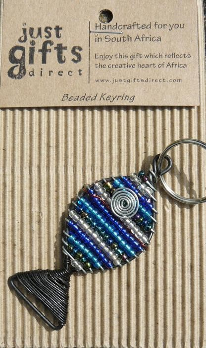 Beaded Fish Keyring (Keyring)