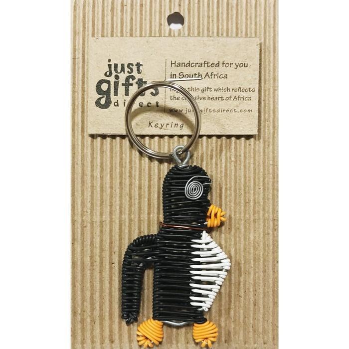 Wire Penguin Keyring (Keyring)