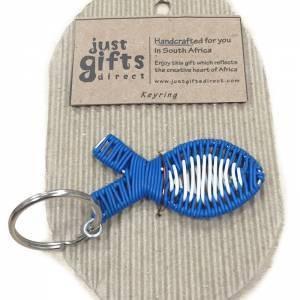 Wire Christian Fish Keyring (Keyring)