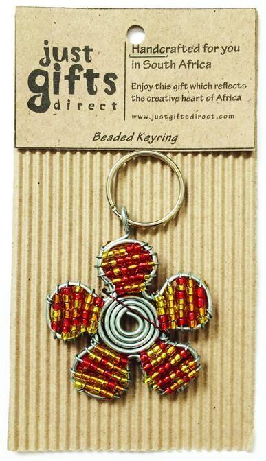 Beaded Flower Keyring (Keyring)
