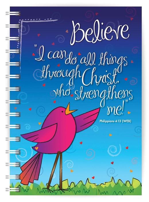 Believe A5 Notebook (Paperback)