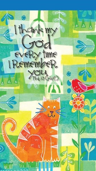 I Thank My God for You Jotter Notepad (Paperback)
