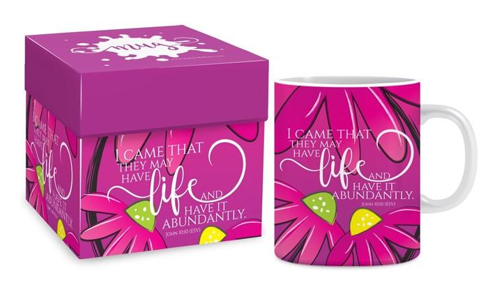 Abundant Life Mug & Gift box (General Merchandise)