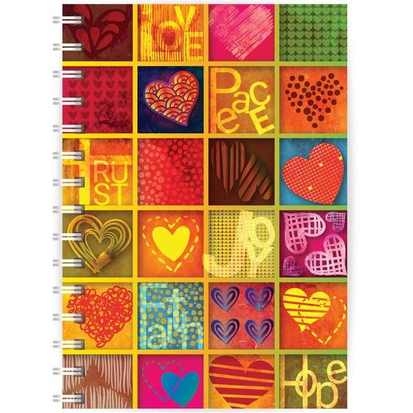 Love, Peace, Trust A5 Notebook (Paperback)