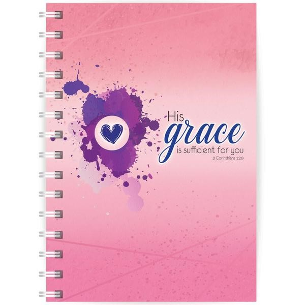 Grace A5 Notebook (Paperback)