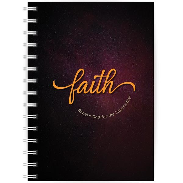 Faith A5 Notebook (Paperback)