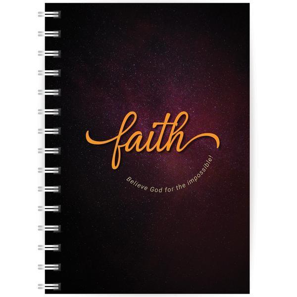 Faith A5 Notebook (Paperback)