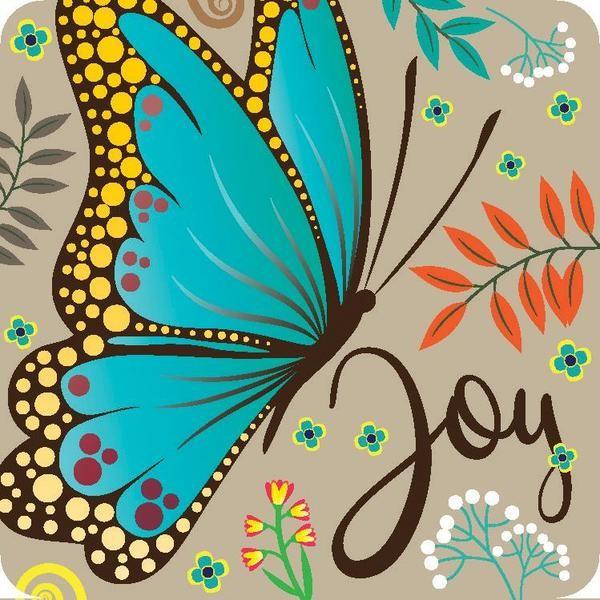 Joy Butterfly Coaster (General Merchandise)