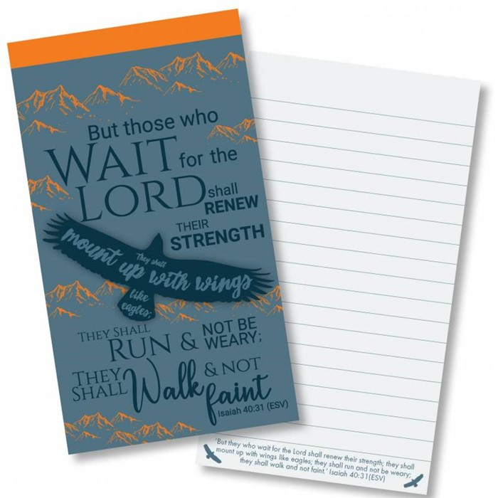 Eagles Wings Jotter Notepad (Paperback)
