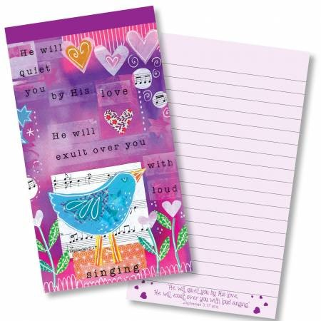 Quiet You With His love Jotter Notepad (Paperback)