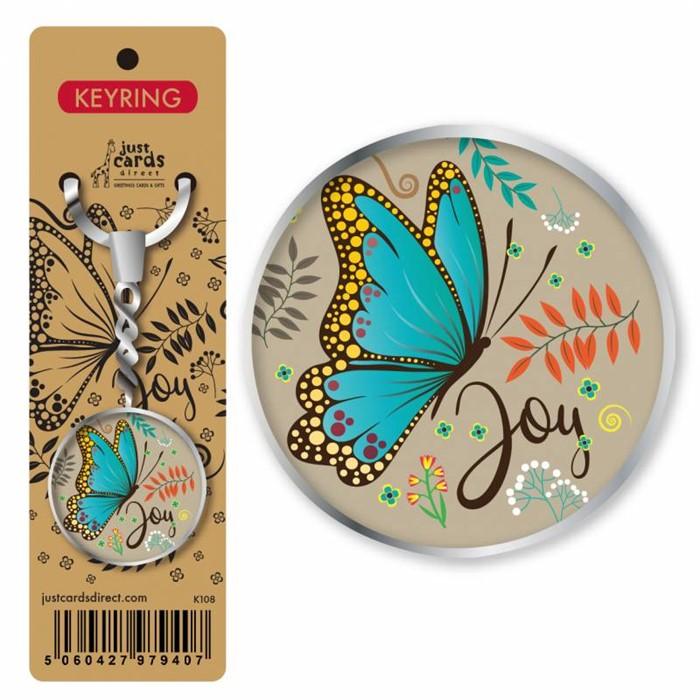Butterfly Joy Keyring (Keyring)