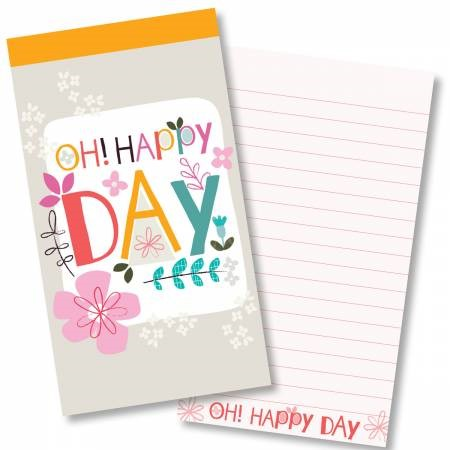 Happy Day Jotter (Paperback)