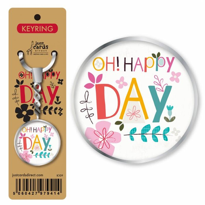 Happy Day Keyring (Keyring)