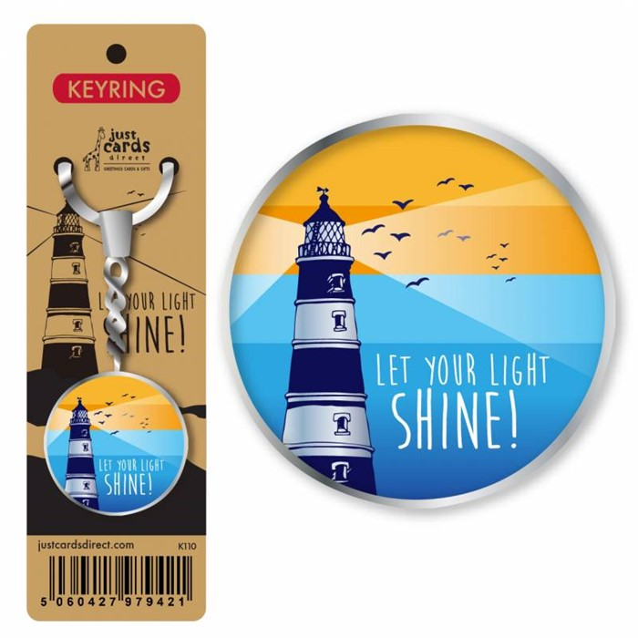 Let Your Light Shine Keyring (Keyring)
