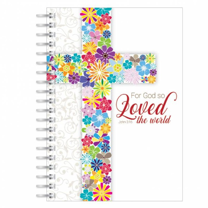 God So Loved the World A5 Notebook (Paperback)