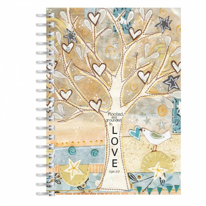 Rooted in Love A5 Notebook (Paperback)