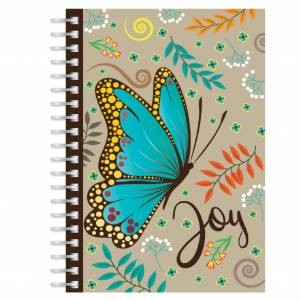 Butterfly Joy A5 Notebook (Paperback)