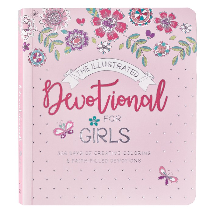 The Illustrated Devotional for Girls (Paperback)