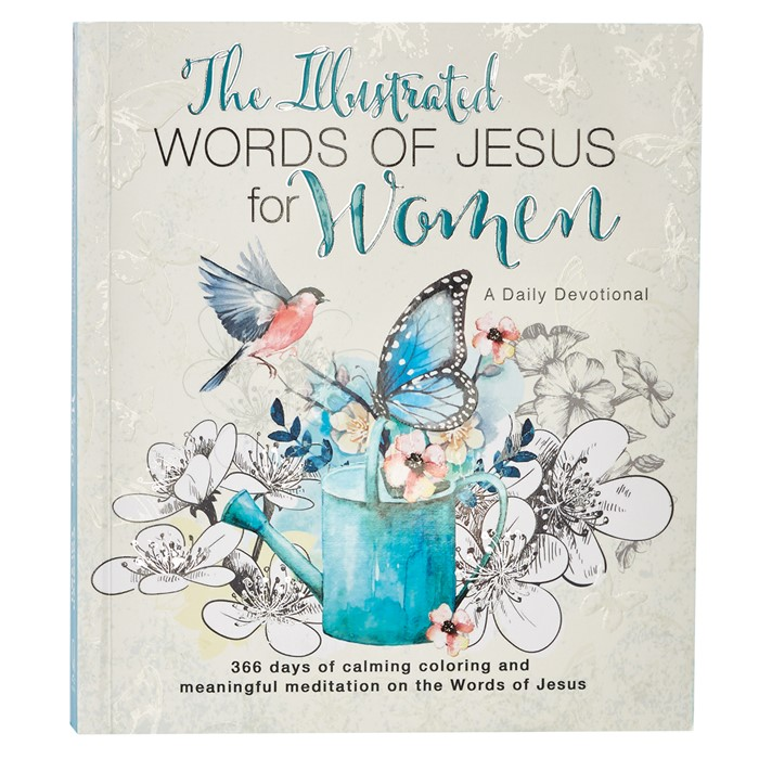 Illustrated Words of Jesus for Women (Paperback)