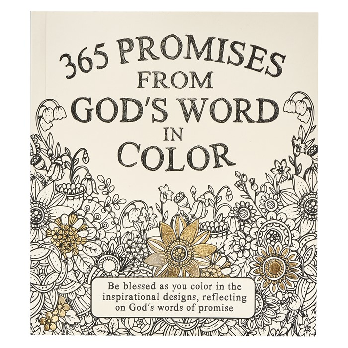 365 Promises from God's Word in Colour (Paperback)