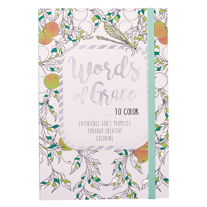 Words of Grace... To Colour (Paperback)