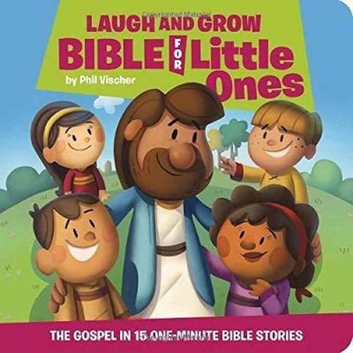 Laugh and Grow Bible for Little Ones (Hard Cover)