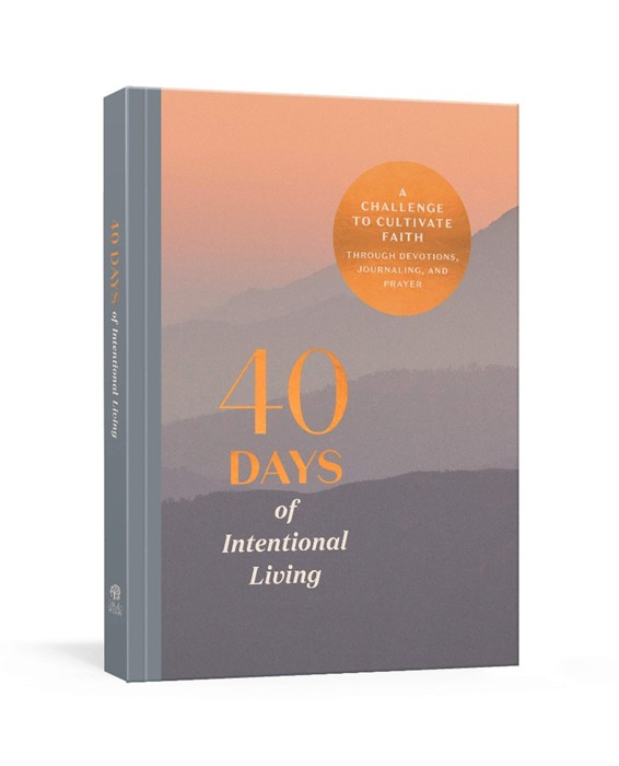 40 Days of Intentional Living (Paperback)