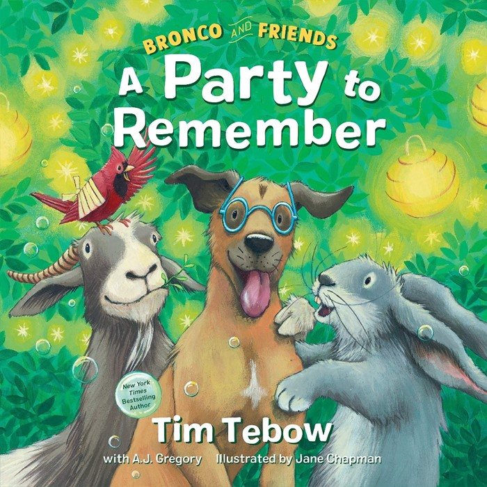 Bronco and Friends: A Party to Remember (Hard Cover)