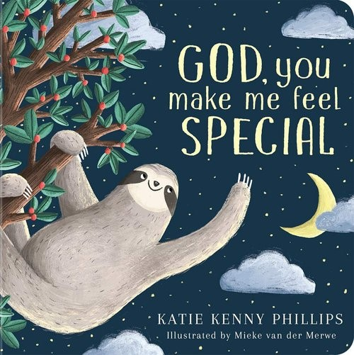God, You Make Me Feel Special (Board Book)