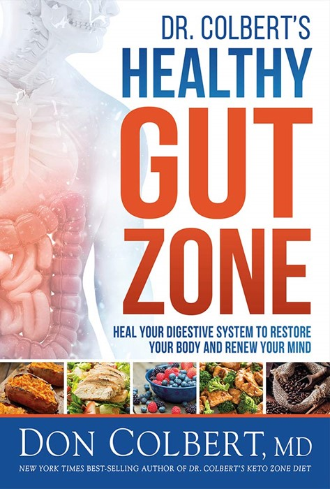 Dr. Colbert's Healthy Gut Zone (Hard Cover)