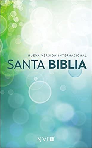 Santa Biblia NVI, Edicion Misionera, Circulos, Rustica (Paperback)