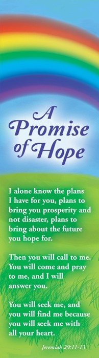Promise of Hope Bookmark (Pack of 10) (Bookmark)