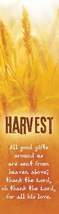 Harvest Bookmark (Pack of 10) (Bookmark)