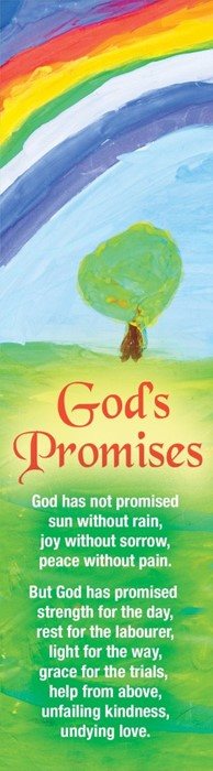 God's Promises Bookmark (Pack of 10) (Bookmark)