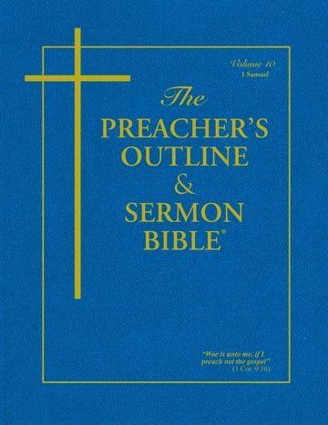 KJV Preacher's Outline & Sermon Bible: 1 Samuel (Paperback)