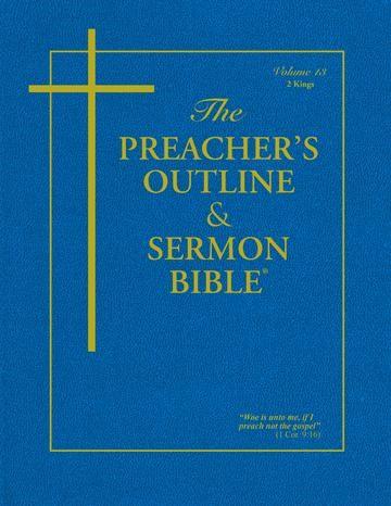KJV Preacher's Outline & Sermon Bible: 2 Kings (Paperback)