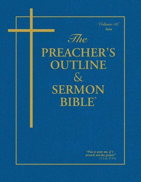 KJV Preacher's Outline & sermon Bible: Acts (Paperback)
