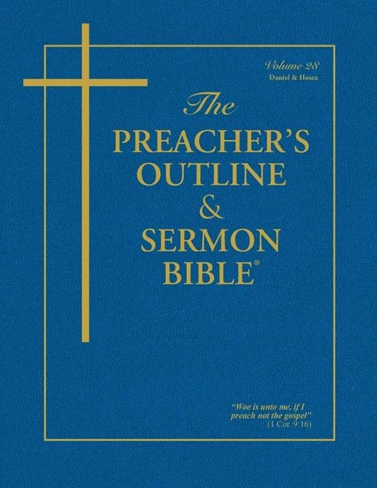 KJV Preacher's Outline & Sermon Bible: Daniel-Hosea (Paperback)