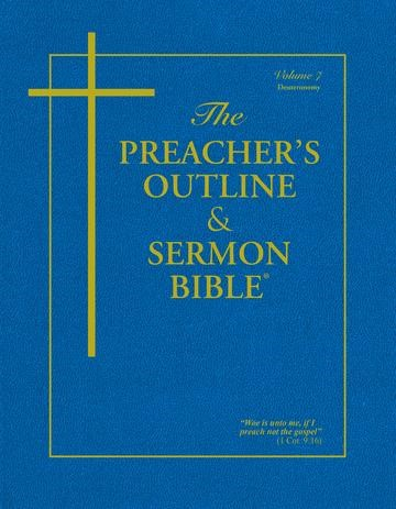KJV Preacher's Outline & Sermon Bible: Deuteronomy (Paperback)