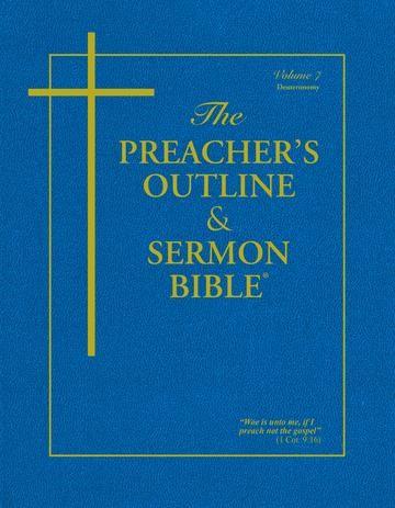 KJV Preacher's Outline & Sermon Bible: Ecclesiastes (Paperback)