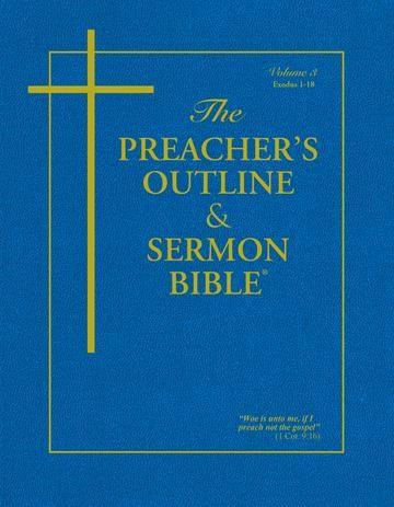 KJV Preacher's Outline & Sermon Bible: Exodus 1-18 (Paperback)
