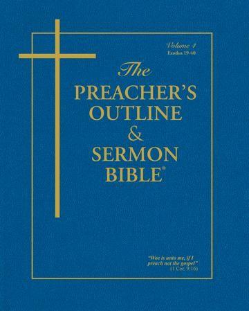 KJV Preacher's Outline & Sermon Bible: Exodus 19-40 (Paperback)
