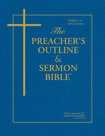 KJV Preacher's Outline & Sermon Bible: Hebrews-James (Paperback)