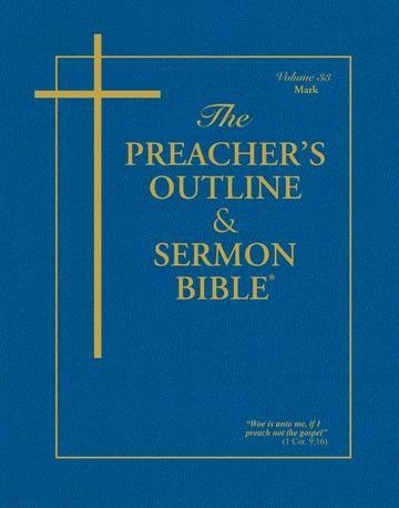 KJV Preacher's Outline & Sermon Bible: Mark (Paperback)